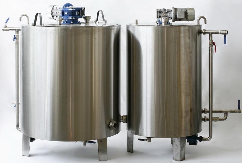 Резервуар для дозрівання вершків, Vраб-4000л Я1-ОСВ-4 - фото