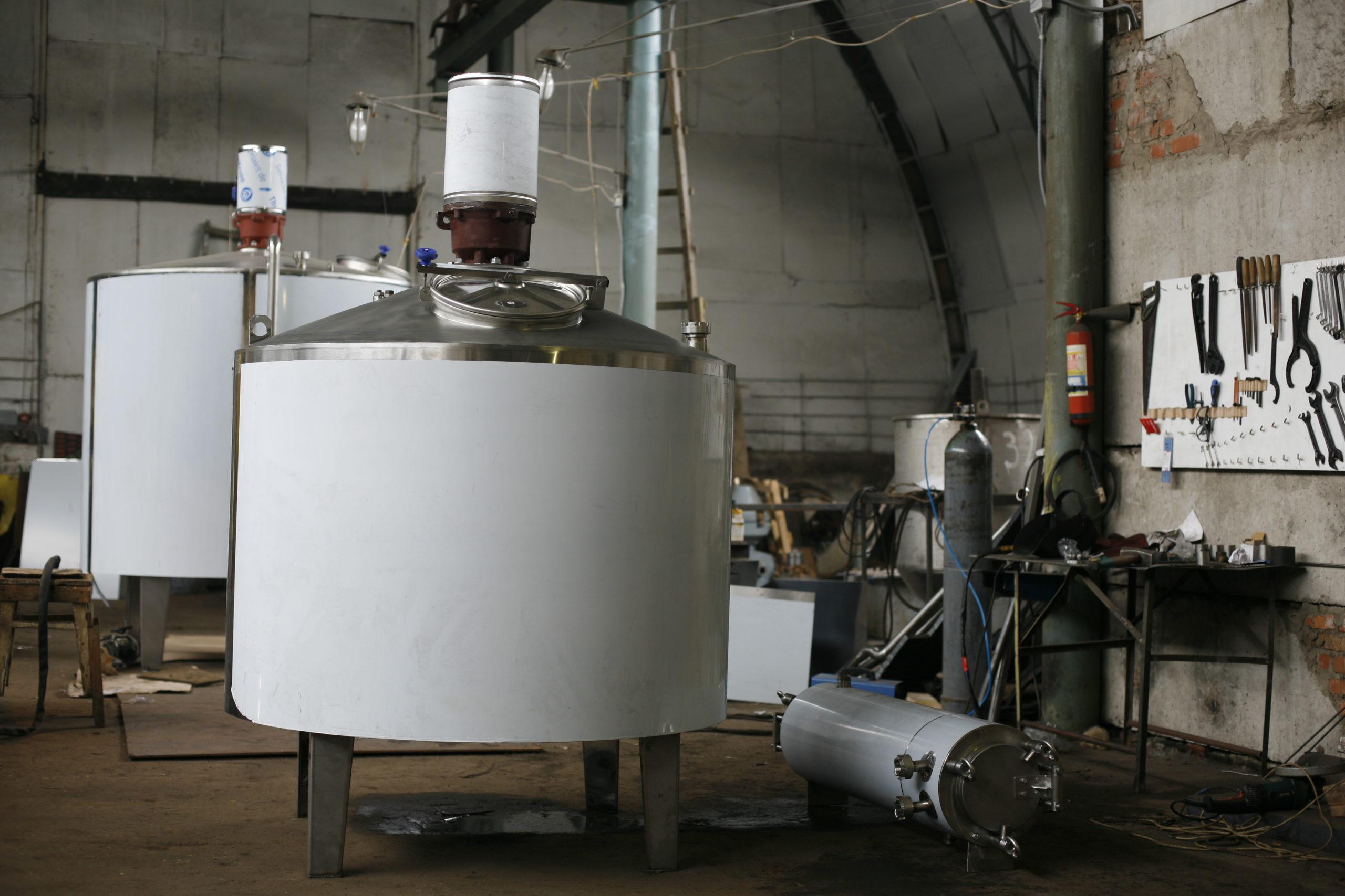 Резервуар для созревания сливок, Vраб-6300л Я1-ОСВ-5 - фото