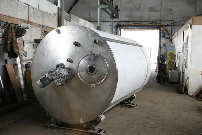 Резервуар для дозрівання вершків, Vраб-2500л Я1-ОСВ-3 - фото