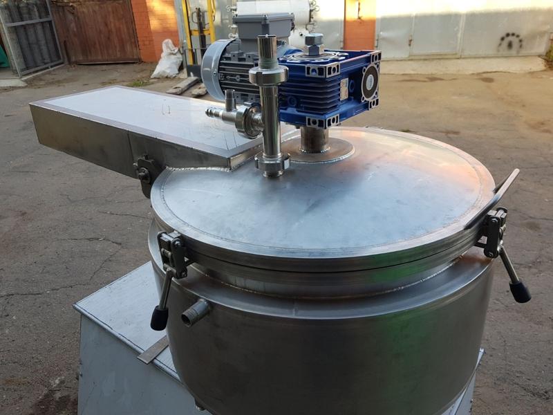 Котел-плавник для виробництва плавленого сиру - фото